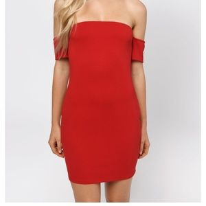 That's What I Like Red Bodycon Dress
